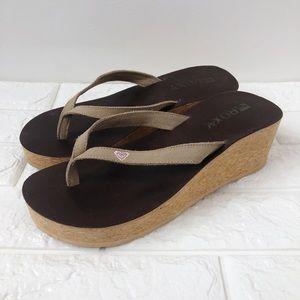 Roxy Shoes | Cork Platform Sandals